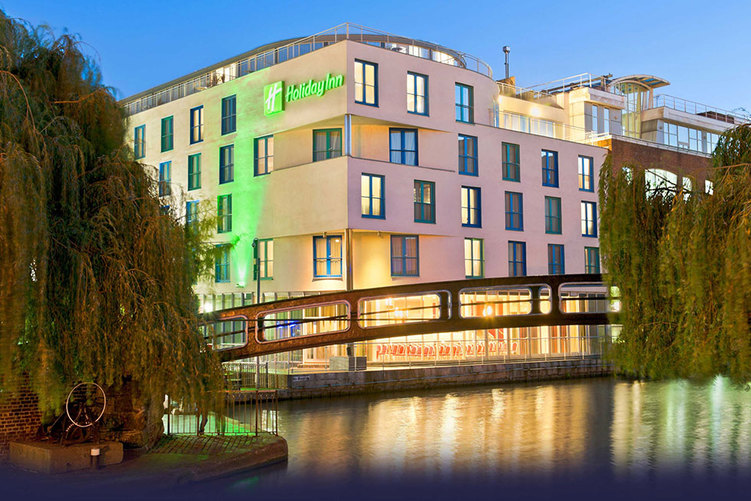 Holiday Inn Camden Lock, London, England - the hotel exterior - Tily Travels