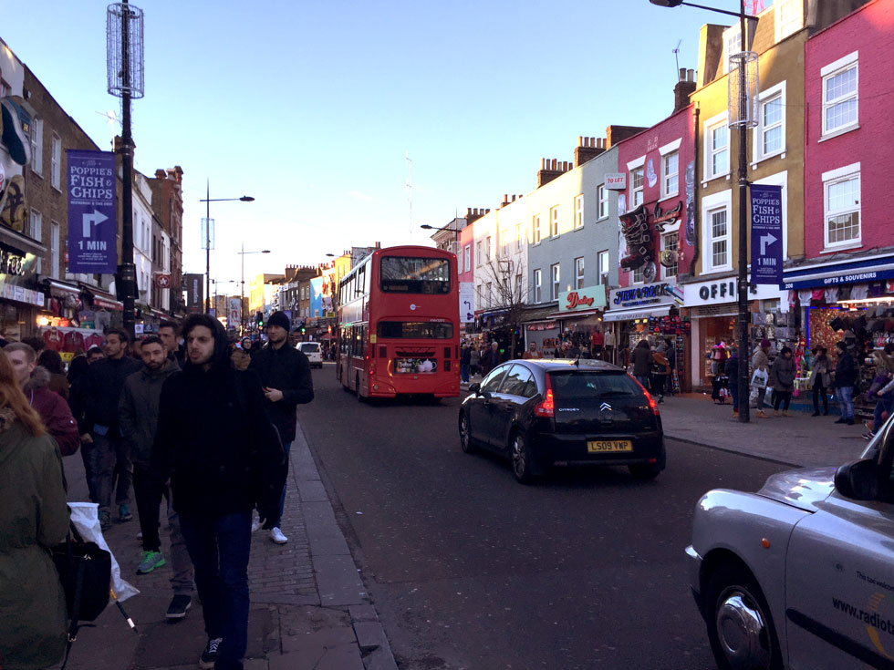 Camden High Street; close to the Buck Street Market - Camden Town, London England - Tily Travels.