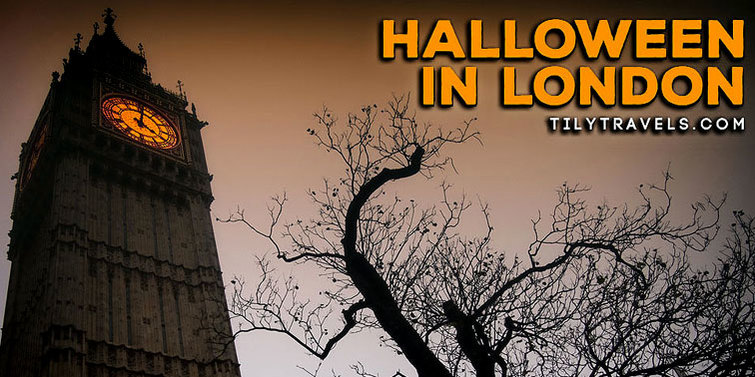 Halloween in London - Tily Travels.