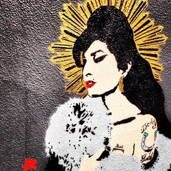 Atmosphere (Amy Winehouse) by Pegasus - Camden Town, London England - Tily Travels.