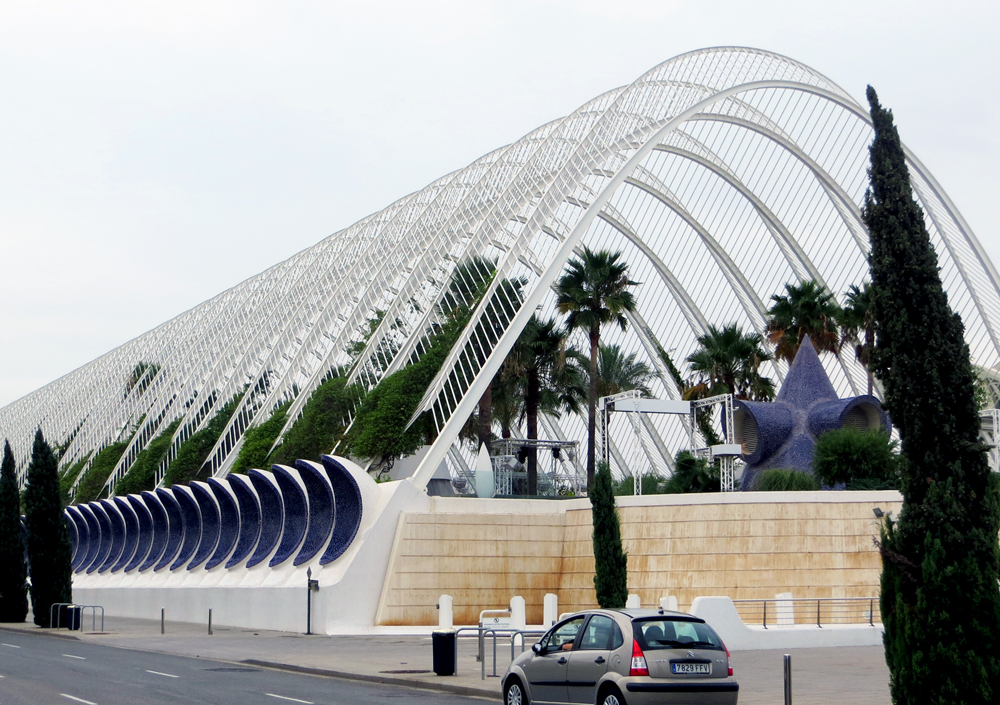 Terraza L´Umbracle, City of Arts and Sciences, Valencia, Spain.