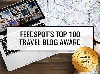 Feedspot Top 100 Travel Blogs