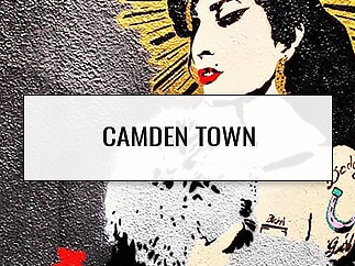 Street Art: Camden Town Hot Spots - London, England