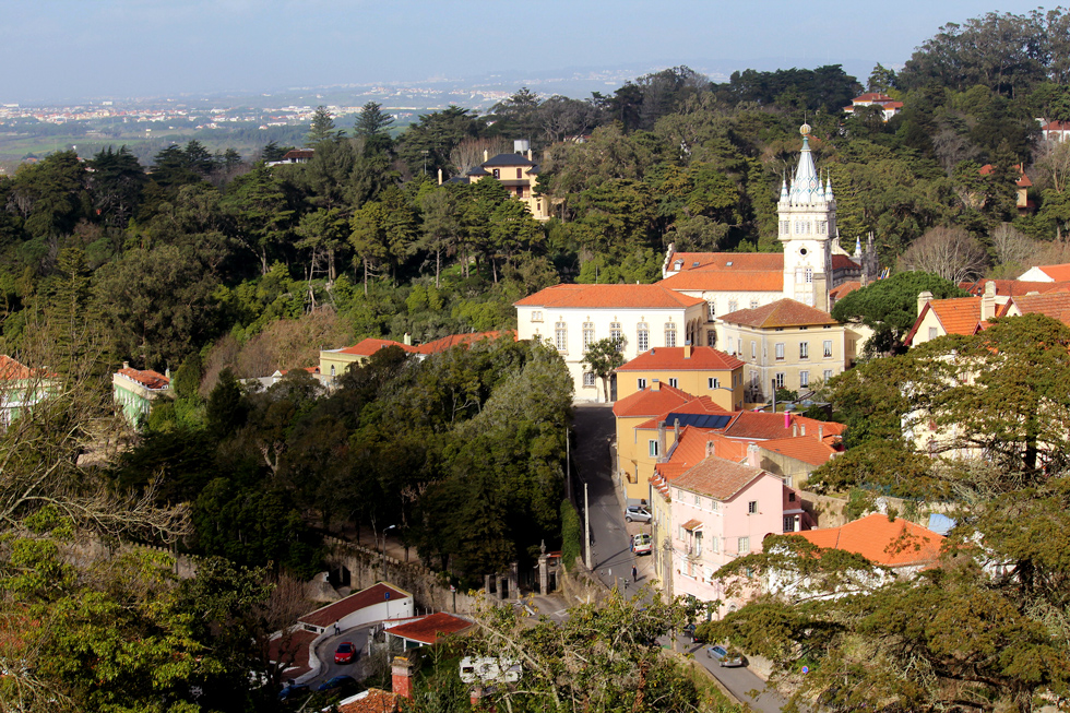 View of the Sintra valley. - The Fairytale Historic Centre of Sintra, Portugal - www.tilytravels.com