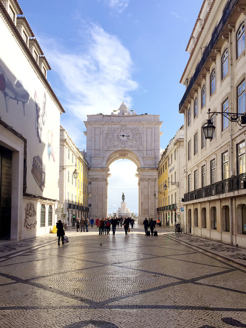 Lisbon Praca Do Comercio Tily Travels
