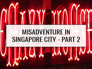 Misadventure in Singapore City part 2 - Crazyhorse Disco