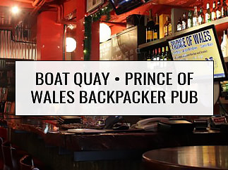 Prince of Wales Backpacker Pub Boat Quay, Singapore