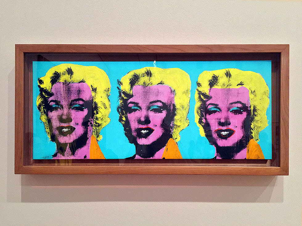 Andy Warhol & Ai Weiwei Exhibition at NGV - Three Marilyns, Andy Warhol - Tily Travels.