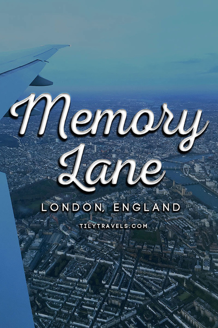 Memory Lane | London - An aerial birds eye view of London - Flying with Qatar Airways past the River Thames, the London Eye, Big Ben, Houses of Parliament, Westminster Abbey and Buckingham Palace - Tily Travels.