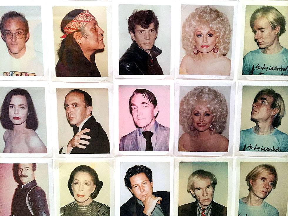Andy Warhol & Ai Weiwei Exhibition at NGV - Original polaroid photographs by Andy Warhol - Tily Travels.
