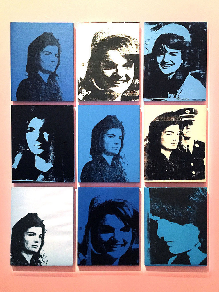 Andy Warhol & Ai Weiwei Exhibition at NGV - Jackie by Andy Warhol - Tily Travels.