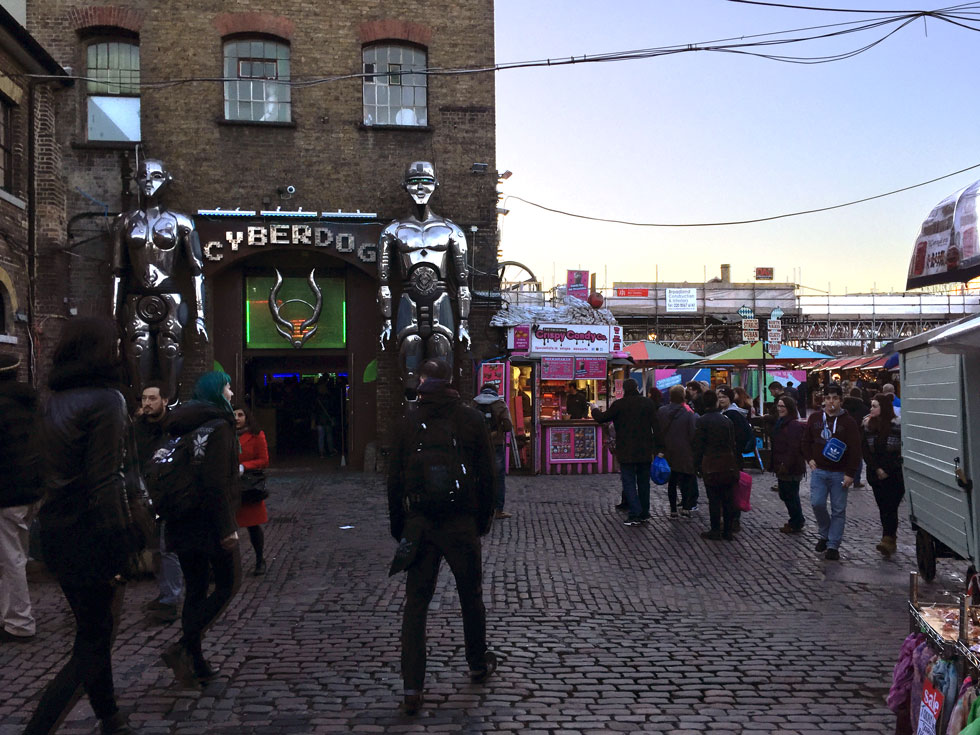 Cyberdog - Camden Market, Camden Town, London - Tily Travels.