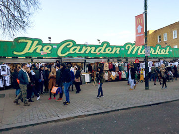 The Camden Market (Buck Street) - Camden Market, Camden Town, London - Tily Travels.