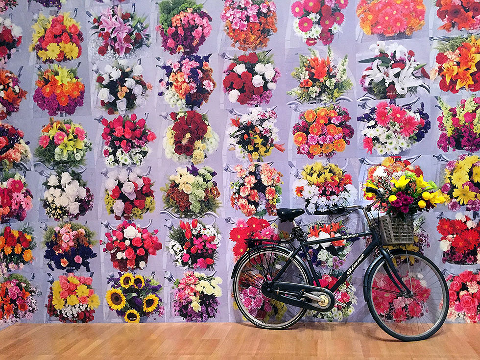 Andy Warhol & Ai Weiwei Exhibition at NGV - With Flowers, Ai Weiwei - Tily Travels.