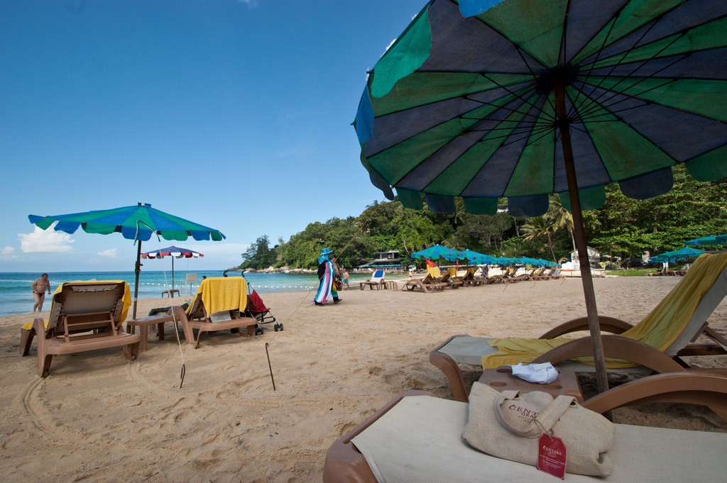 Beach Hopping In Phuket. Karong Beach, Thailand.