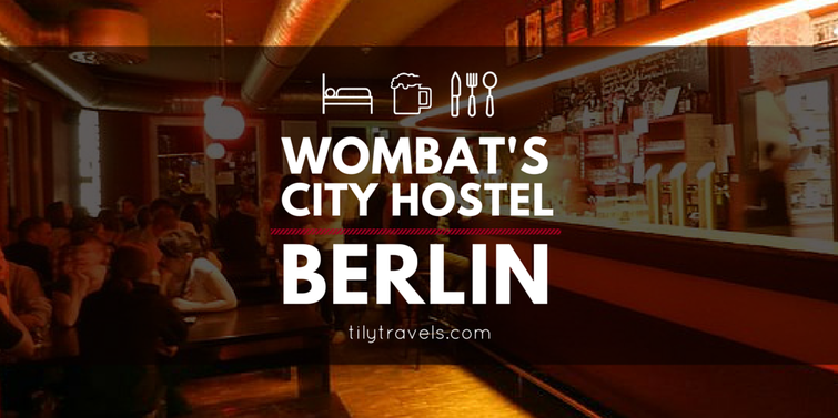 Wombat's City Hostel Berlin - Tily Travels.