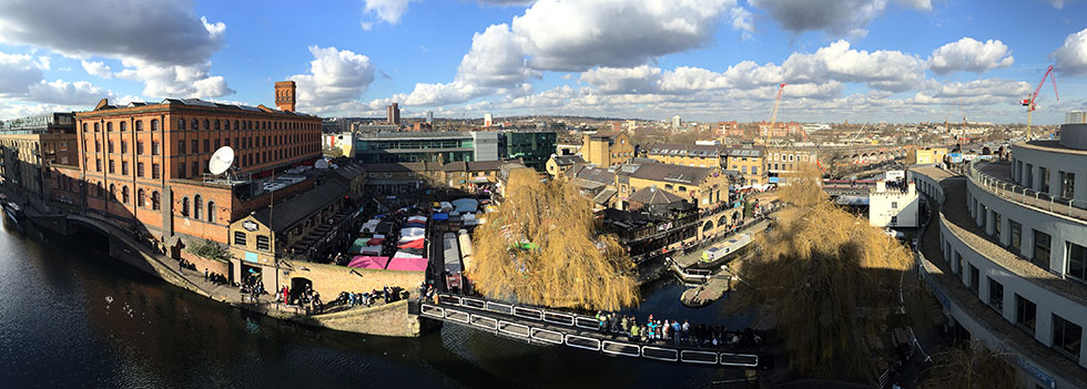 Holiday Inn Camden Lock, London, England - a panoramic view from my penthouse balcony - Tily Travels