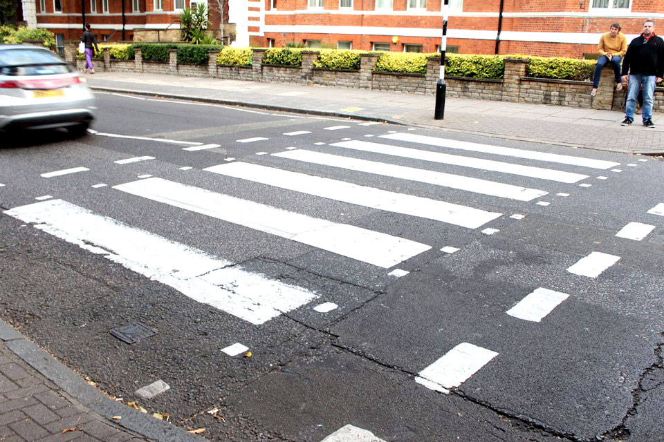 The Crossing - Abbey Road Crossing, London, England - Tily Travels.