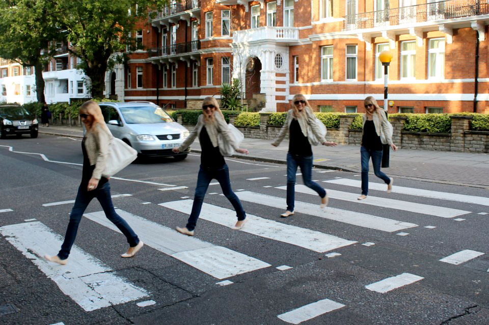 Walking across the Abbey Road Crossing in London like the Beatles did in 1969 - Abbey Road Crossing, London, England - Tily Travels.