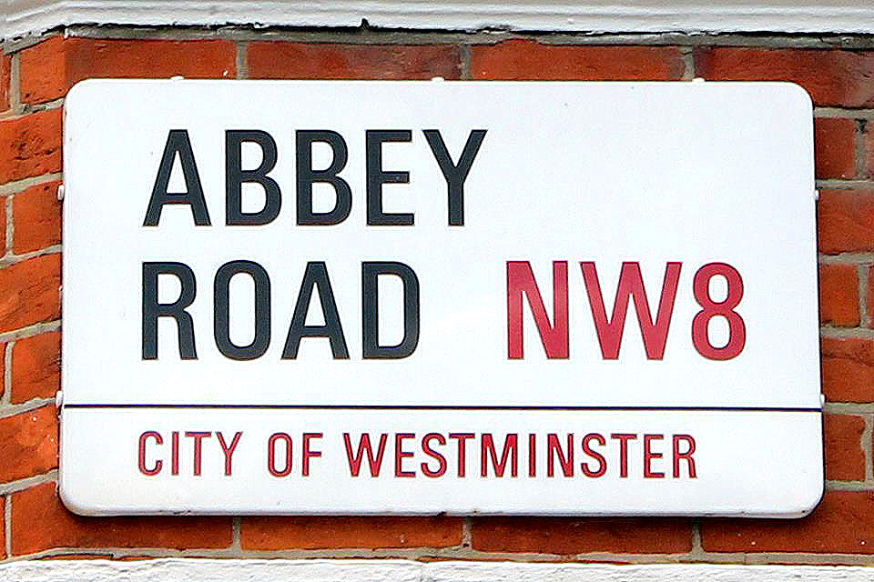 The Abbey Road street sign - Abbey Road Crossing, London, England - Tily Travels.