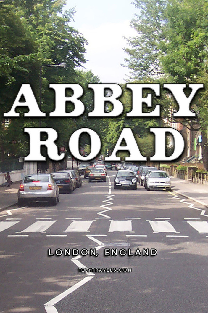 Abbey Road Crossing, London, England - Tily Travels.