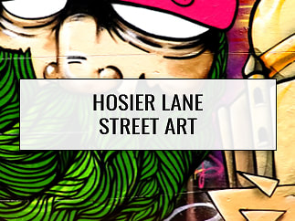 Hosier Lane Street Art, Melbourne, Australia
