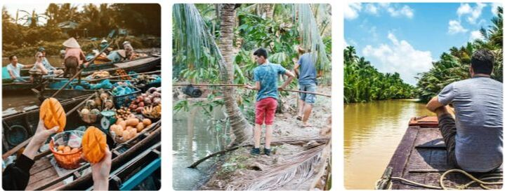 Perfect Destinations in Vietnam for a Family Travelling with Kids - Part 2 - Mekong Delta activities.