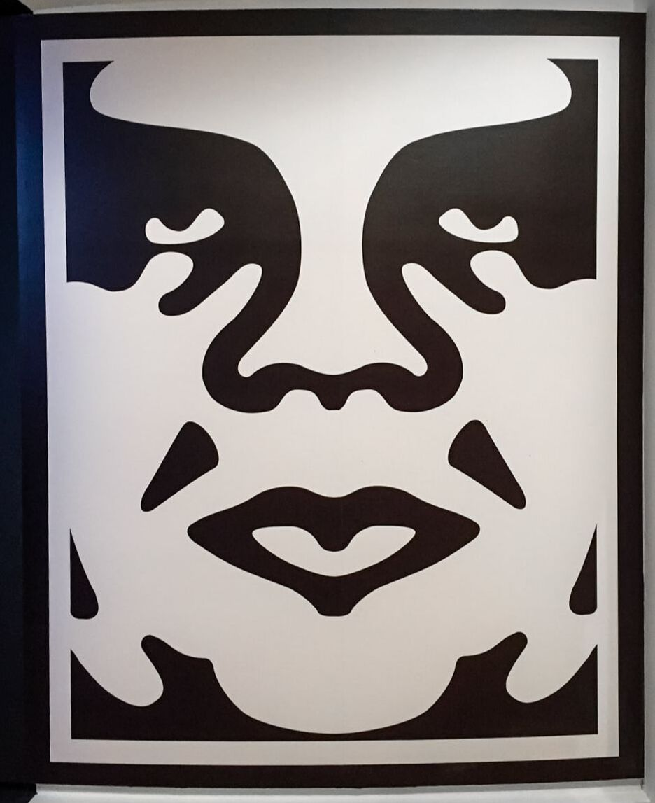 Singapore: Art From The Streets Exhibition at the ArtScience Museum - Obey Giant - Shepard Fairey (Obey) - 1989.