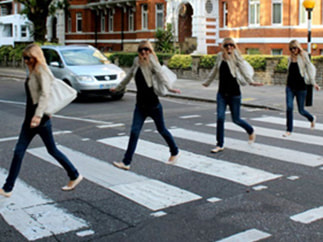 TOURIST ATTRACTIONS ST JOHNS WOOD Abbey Road.