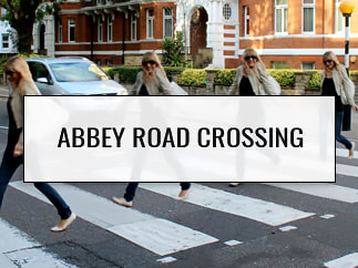 Abbey Road Crossing, London, England