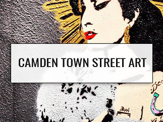 Camden Town Street Art, London, England