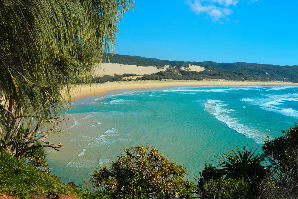 4 Incredible Islands to Visit in Australia - Indian Head beach, Fraser Island, Queensland, Australia.