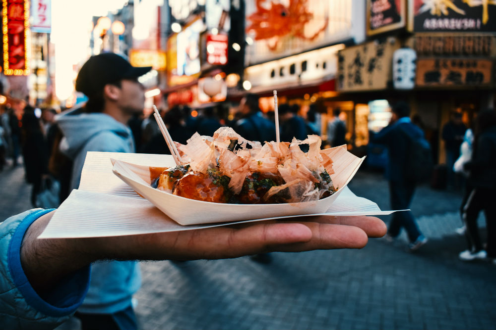 The Picky Eater's Guide To A New City - Street food in Osaka, Japan.