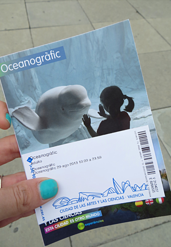 Entry ticket and park guide - Oceanographic, Valencia, Spain
