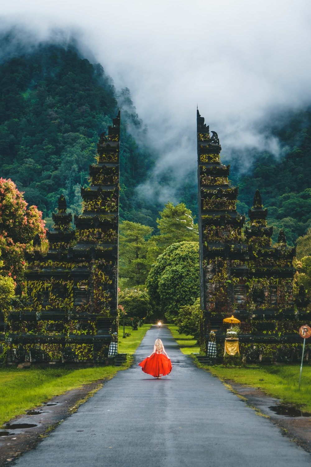 Top Ways of Dealing With Anxiety Whilst Travelling Abroad in 2019 - Stress free. Gates in Bali Indonesia