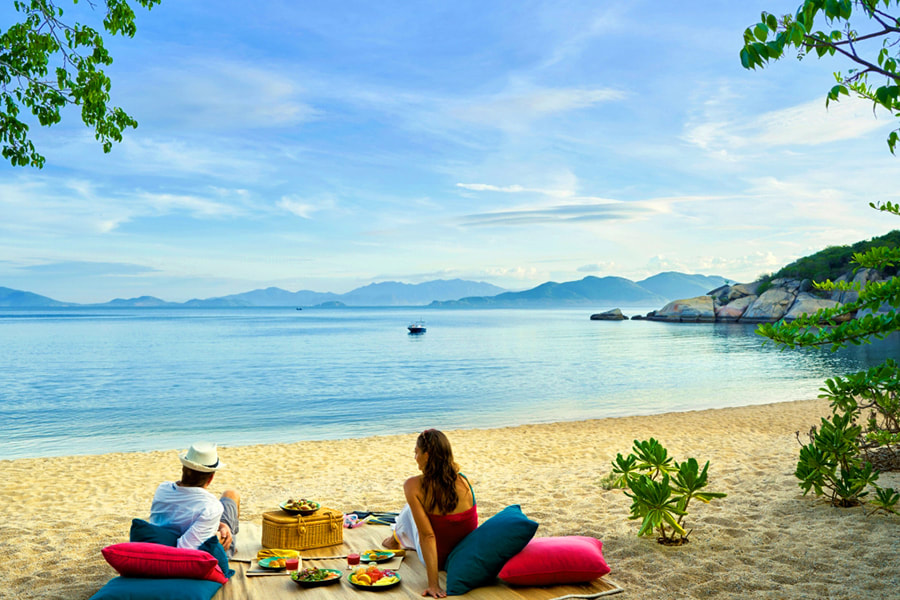 Perfect Destinations in Vietnam for a Family Travelling with Kids - Part 2 - Nha Trang beaches.