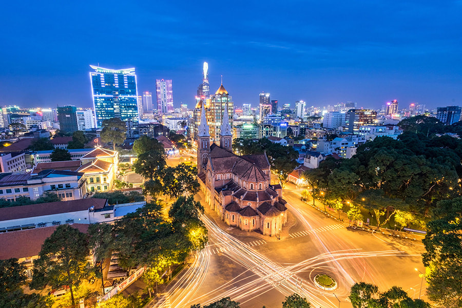 Perfect Destinations in Vietnam for a Family Travelling with Kids - Part 2 - Ho Chi Min City (Saigon).