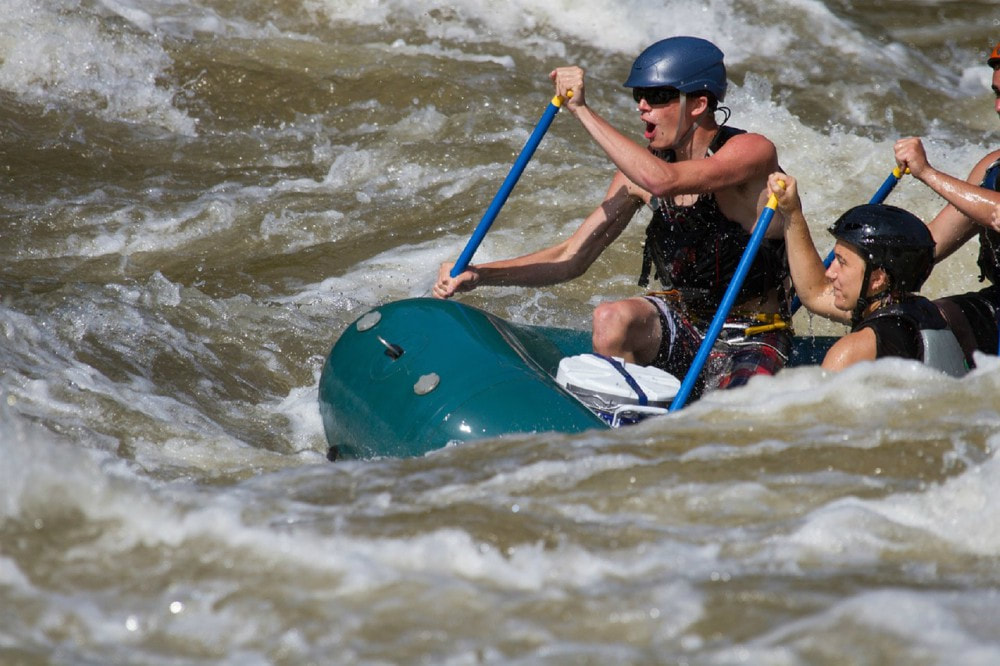 Physical and Mental Health Benefits of White Water Rafting in California