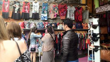 Shopping in the Camden Lock Village - Camden Market, Camden Town, London - Tily Travels.