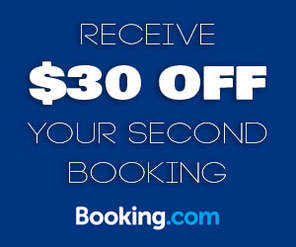 $30 aud off Booking.com