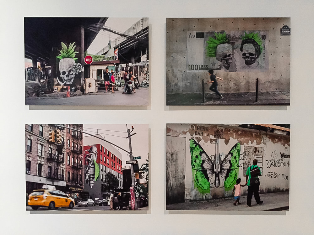 Singapore: Art From The Streets Exhibition at the ArtScience Museum - A collection of artworks - Ludo - 2017.