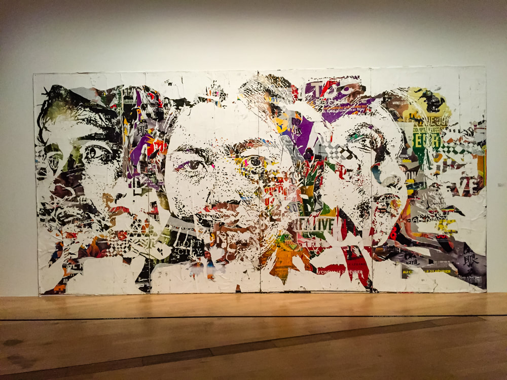 Singapore: Art From The Streets Exhibition at the ArtScience Museum - Foundations - Vhils - 2017.