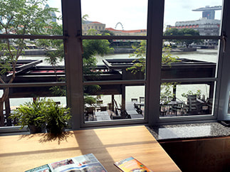 Port by Quarters Hostel, Boat Quay.