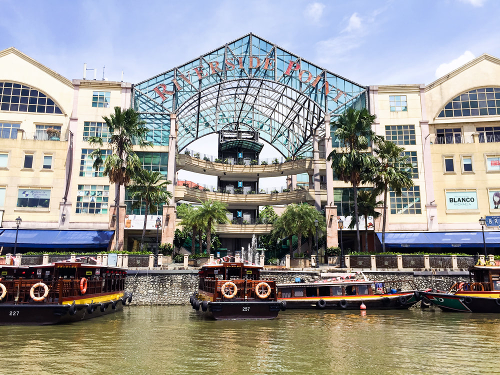 Riverside Point Shopping Plaza - Singapore River Cruise