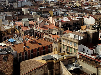 Arial view of Valencia, Photo diary, Spain