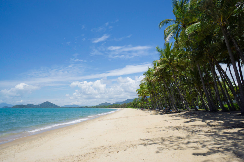 4 Ways To Plan A Killer Staycation This Winter. Palm Cove Beach, Cairns, Australia.