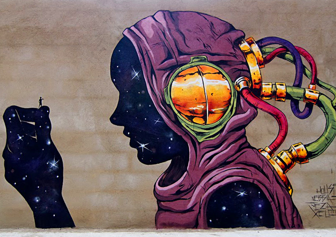 Street Art in El Carmen, Valencia, Spain - Deih
