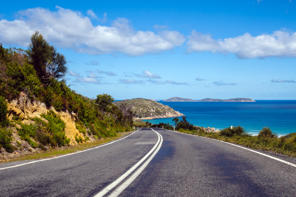 Which Countries Are the Best for Driving? Wilsons Promontory, Victoria, Australia.
