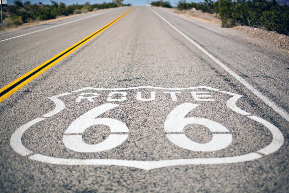 Which Countries Are the Best for Driving? Route 66, USA.