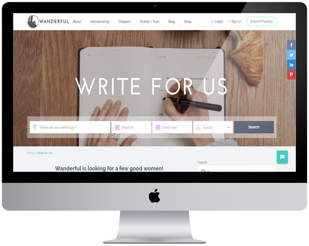 Monetise your blog. ​3 easy ways to connect your blog with brands and begin making money online. She's Wanderful screenshot.